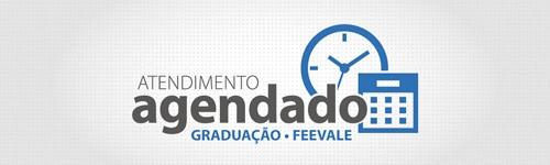 Banner central - Atendimento Agendado - Graduação - Feevale