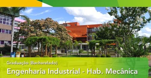 Engenharia Industrial - Habilitação em Engenharia Industrial Mecânica