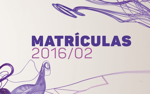 Banner central - Matrículas dos aprovados vestibular 2016-02