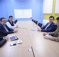 Feevale Techpark recebeu visita de diretor do Medical Valley, da Alemanha.