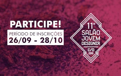 Banner central - 11º Salão Jovem designer