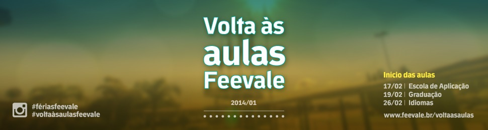 Volta as aulas 2014/01