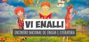 Banner central -VI ENALLI - Encontro Nacional de Língua e Literatura
