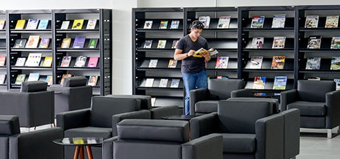 Banner central - Serviços Biblioteca