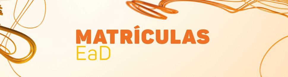 Banner de topo - Matrículas EaD