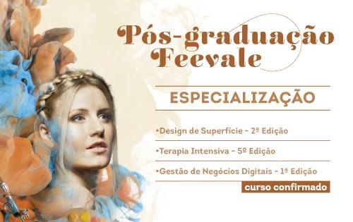 Click e consulte as opções de Especialização da Universidade Feevale.