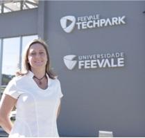 Daniela Eckert representará o Feevale Techpark.