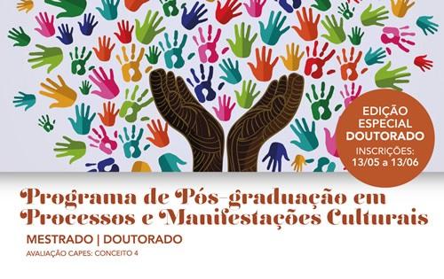 Banner do Meio Programa de Pos-graduacao Processos e Manifestacoes Culturais
