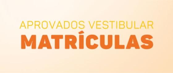 Banner central - Matrículas Aprovados Vestibular