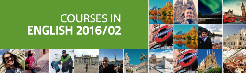 Courses in English 2016/02