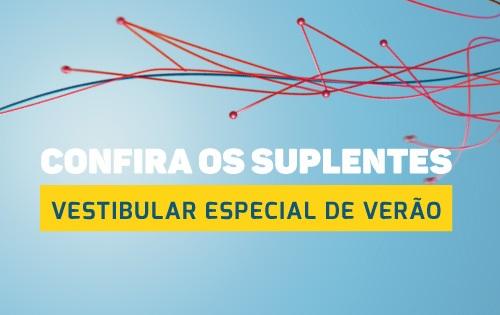 Banner central - Listão de suplentes do Vestibular Especial 2017/01