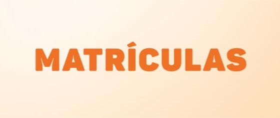 Banner central - Matrículas