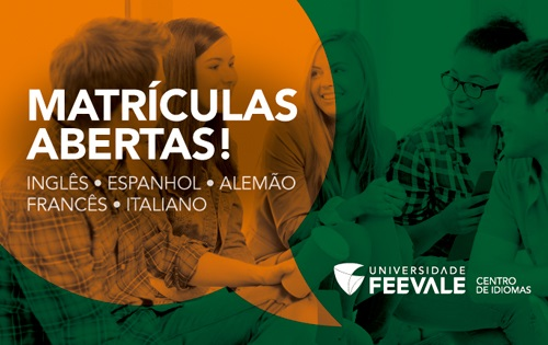 Banner central - Centro de Idiomas Feevale