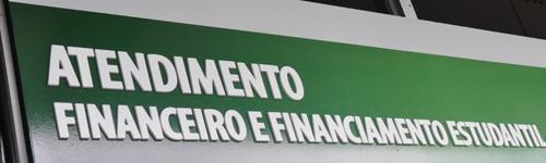 Atendimento Financeiro e Financiamento Estudantil