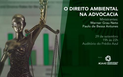 Banner Central - O Direito Ambiental na Advocacia