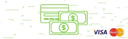 Investimento - Aceitamos VIsa e Mastercard