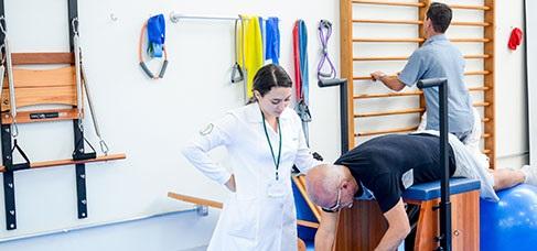 Banner central - Clínica-escola de Fisioterapia