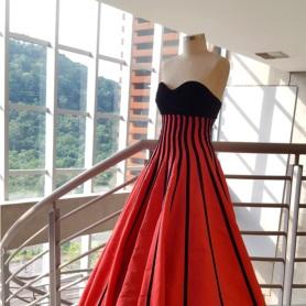 Coleção Reinas, de Rosane Schlickmann, curso de Moda