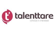 Logo Talenttare Conteúdo e Criatividade