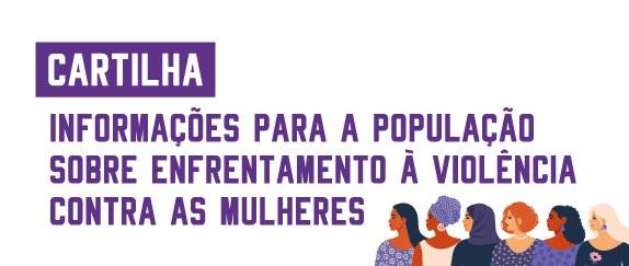 Imagem central - E-book Enfrentamento à Violência Contra as Mulheres