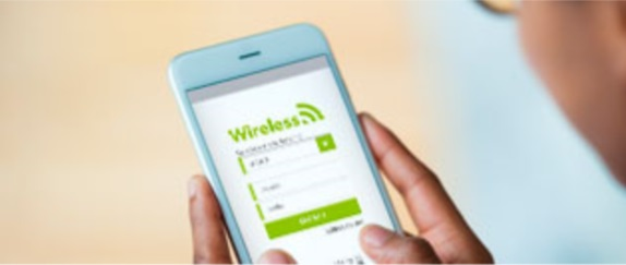 Banner central -  WIRELESS