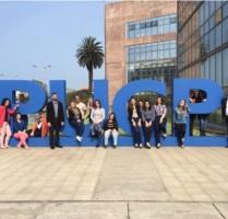 Estudante do MBA visitam a PUCP