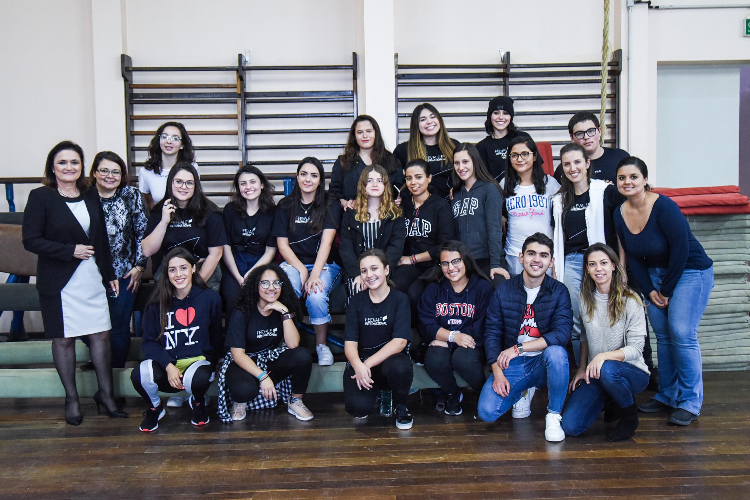 Recepção dos alunos mexicanos