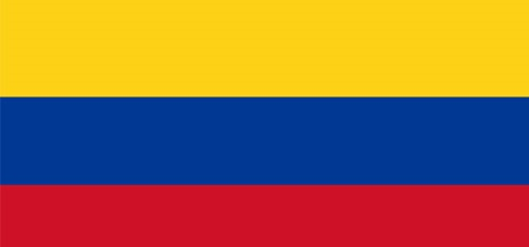 Bandeira Colombia CNC3
