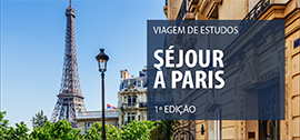 Banner central - Séjour à Paris - 1ª edição