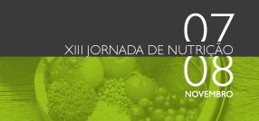 Banner central - XIII Jornada de Nutrição