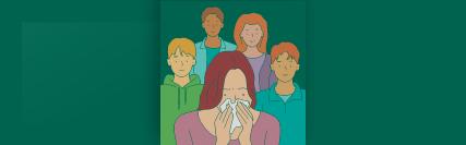 Imagem central - Dica 4 - Doenças respiratórias virais