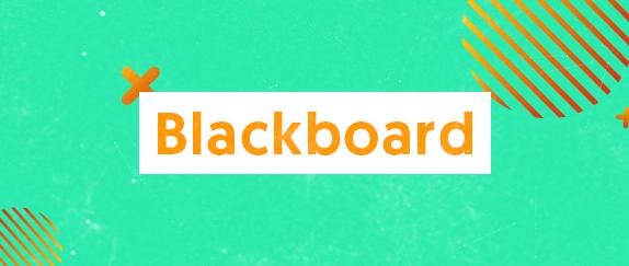 Imagem central - BlackBoard
