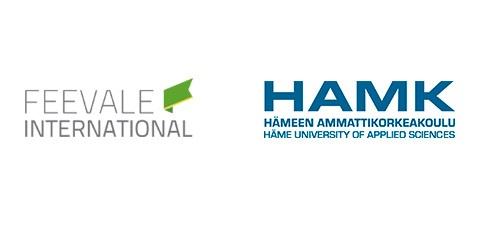 Banner central - Feevale International e HAMK