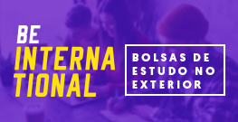Banner de apoio lateral - Bolsas de estudos no exterior