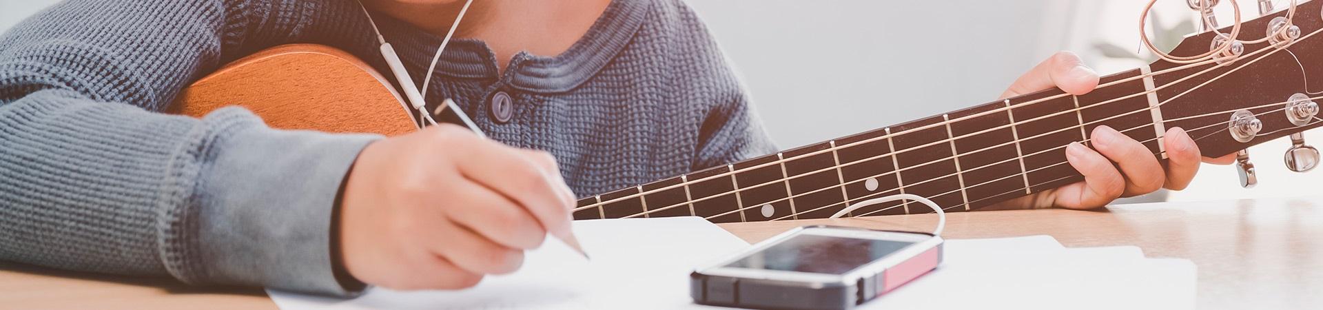 Banner de topo - Música: ensino e expressão