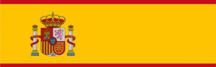 Bandeira Espanha 574x243