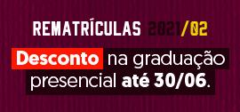 Banner apoio rematrícula 2021/02