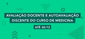 Banner central - Avaliação Docente e Autoavaliação Discente do curso de Medicina