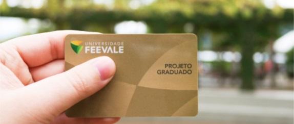 Banner central - Cartão do graduado Feevale