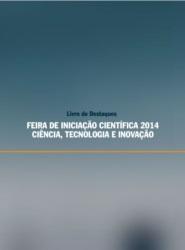 Imagem de referência e-book Livro de Destaques Feira de Iniciação Científica 2014