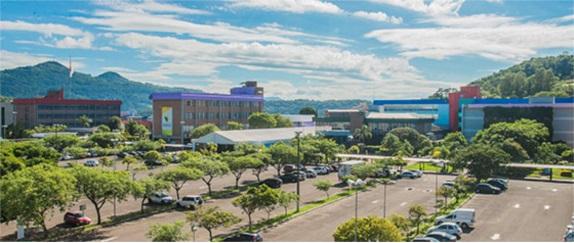 Banner central - Estacionamento