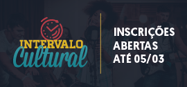Banner de apoio - Intervalo Cultural
