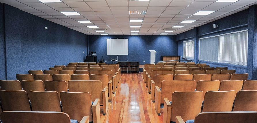 Banner central - Auditório CIES