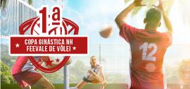 Banner de apoio home - 1ª Copa Ginástica NH Feevale de Vôlei