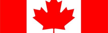 Banner central - bandeira do Canadá