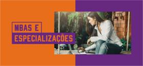 Banner de apoio - MBAs e Especializações