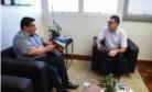 Enio Brizola se reúne com Cleber Prodanov