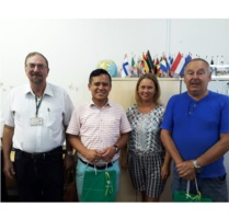 Representantes visitaram a Feevale no dia 6 de fevereiro