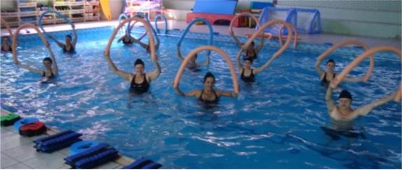 Banner central - Atividades físicas e aquáticas
