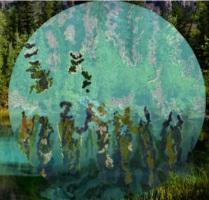 Obra El agua, de Glória Baptistel